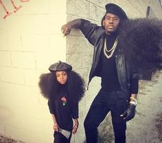 The Father Daughter Duo With Iconic Hair Is Rocking The Internet