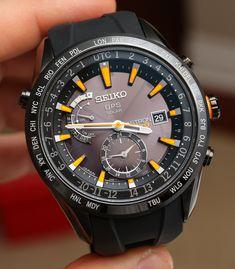 Seiko Astron Solar GPS Watch