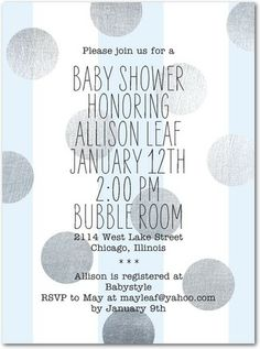 Metallic Confetti: Mermaid - Baby Shower Invitations in Mermaid   Baumbirdy