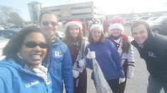 The Harrisburg Dickens Day Parade with CBS 21 news crew