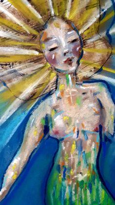 #mermay2020 Mermaid, Painting, Art, Art Background, Painting Art, Kunst, Paintings, Performing Arts, Painted Canvas