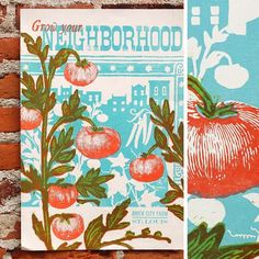 """""""#tbt - Back when #Kickstarter was new(ish) BrickCity #Farm hired us to design and print #posters for their funding campaign. We're happy to say they made…"""" City Farm, Farm Signs, Farmers Market, Campaign, Branding, Posters, Graphic Design, Happy, Instagram"""