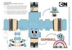 Gumball, Paper Toy !