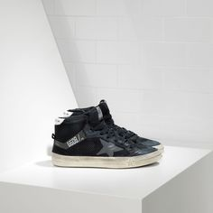 Golden Goose 2.12 Sneakers In Bonded Fabric With Leather Star Men - Golden Goose / GGDB