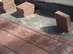 The newly-installed personalized bricks at Atheneum Hall look great! To reserve your brick right now, just follow the link: http://www.ccubrick.com/