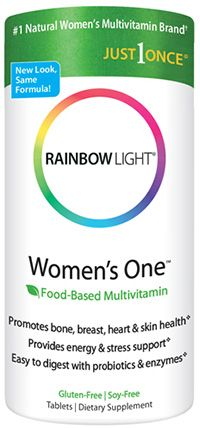 Rainbow Light Women's One™ Multivitamin | Potent Multivitamins Specifically for Women Contains essential vitamins, minerals, foods and herbs...