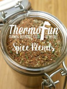 Post updated 20th January 2016 One of my favourite things to do (ok apart from making a recipe with chocolate!) is to make spice blends. Since owning my Thermomix I have experimented with so many different spice blends. They all taste so fresh and have no anti-caking agents. Hints and tips about dried herbs and...