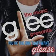 """-- #LyricArt for """"You're The One That I Want (Glee Cast Version)"""" by Glee Cast"""