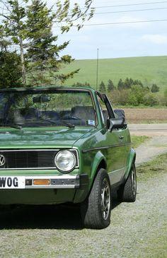 My Girl 1986 Volkswagen Cabriolet -Leaghwog