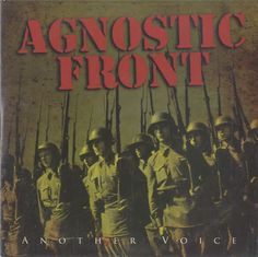 Agnostic Front, Another Voice, German, Promo, Deleted, CD album (CDLP), Nuclear Blast, NB1362-2, 488691