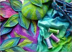 FELTING matters... : Felted iPAD Case... by GILLIAN CHAPMAN