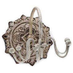 Think outside the jewelry box and embrace clever and unique solutions! This metal Antique White Jewelry Spinner is a quick and easy way to keep your bracelets, Art Craft Store, Craft Stores, Beaded Jewelry, Jewelry Box, Jewellery, Decorative Wall Hooks, Architectural Salvage, Knobs And Pulls, Kids Decor