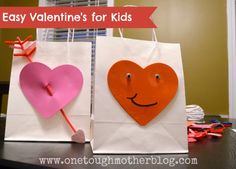 Easy peasy and USEFUL Valentine's for your child to make and give!