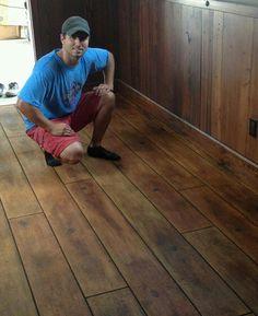 Best 25 Concrete Wood Floor Ideas On Pinterest Wood