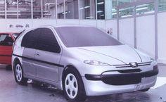 OG   1998 Peugeot 206   Early design proposal
