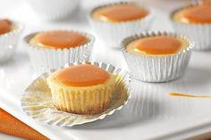 Bourbon-Caramel Cheesecake Bites