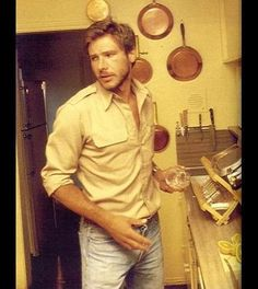 Sexy young Harrison Ford