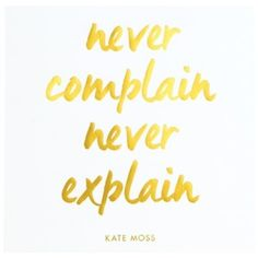 Never Complain Print Gold Framed ($60) ❤ liked on Polyvore featuring home, home decor, wall art, quote posters, gold home accessories, quote wall art, typography poster and metallic wall art
