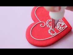 Galletas estilo henna   Mensaje en una galleta