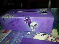tissuebox Snoopy
