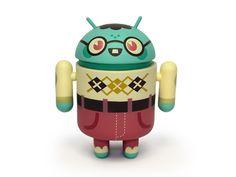 Sofunkylicious: Le robot Android en mode Art Toyz