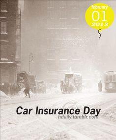 Car Insurance Day!