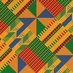 Another fun textile pattern I whipped up for this project I've been simmering on at work. This one hails from Tanzania. Lot of fun to work on. #tanzania #africa #pattern #textile #rug #woven #design #graphic #graphicdesign #illustrator #vector #vectorart