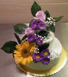 3-Tier wedding cake. Highlands Meadows Bakery