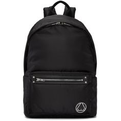 fb5c41a6cfa6 MCQ BY ALEXANDER MCQUEEN Black Loveless Backpack. #mcqbyalexandermcqueen  #bags #leather #nylon #backpacks #