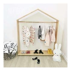 Beautiful Handmade Stand House Shape Nordic Style Wooden Floor Hanger Mini Kids Clothes Rack Garment Dress Up Storage Shelf. Yesterday's price: US $185.38 (160.89 EUR). Today's price: US $185.38 (160.89 EUR). Discount: 38%.
