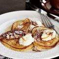 Breslins Ricotta Pancakes with Orange Syrup