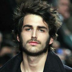 eddie could so rock this shag hair cut with a beard