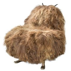 Unique Mariah Hairy Beast Chair by the Haas Brothers at 1stdibs