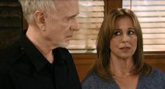 Luke and Laura are faced with an intruder at the Triple L Diner. June 2015