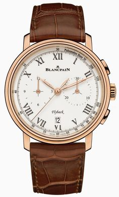 Blancpain Villeret Chronographe Pulsometre watch. A classy-as-you get piece of art.