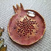 Тарелочка для украшений - купить или заказать в интернет-магазине на Ярмарке Мастеров | Керамическая тарелочка для ваших украшений. В…