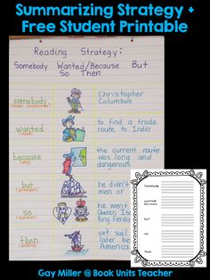 Teaching students to summarize text can be one of the most difficult skills you tackle the during this school year. This post offers six summarizing strategies… Help Teaching, Student Teaching, Teaching Reading, Reading Strategies, Reading Skills, Summary Writing, Context Clues, Inference, Graphic Organizers