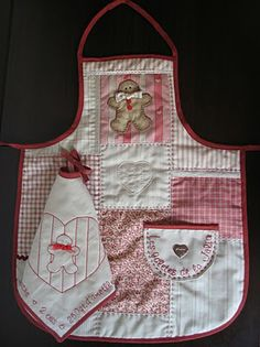 Handmade child apron I was looking for something like this in December.