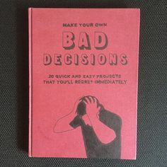 Bad Decisions, 30X22 cm, framed 58X50 cm, 2015. SOLD. Enquiries: johan@deckmann.com, www.deckmann.com #johandeckmann