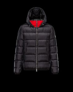 2a68a29b673b Order Mens Moncler Clamart Down Jackets Black Red. storemoncler · moncler  online shop