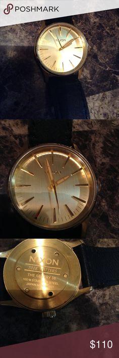 Nixon Watch Nixon Sentry 38, great condition, water resistant 100m  price negotiable Nixon Accessories Watches