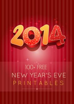 100+ Free New Years Eve Party Printables