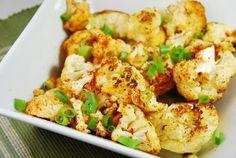 Roasted Chile Lime Cauliflower Recipe