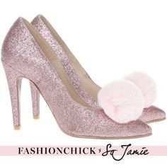 Pink And A Little Sparkle | Heels | Glitter | Pink | More on Fashionchick.nl