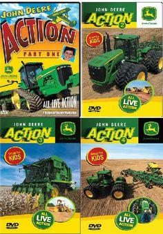 John Deere Kids Action DVD's – GreenToys4u.com #johndeere #movies #DVD