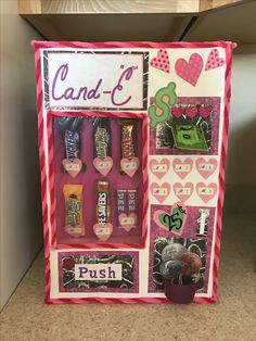 Vending machine Valentines Day box!!