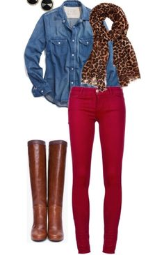 Outfit with print
