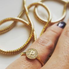 The P stands for PRETTY   #minitials #minitialsmoments #Aeon #rings #ring #diamonds #diamond #pushgift #pushpresent #weareinlove #bridalinspiration #weddingring #engagementring #engagement #present #jewellery #jewelry #fashionstatement #fashion #18k #solid #gold #love #loveofmylife #stackingrings #weddinggift #engagementinspiration #baby #birthgift #love #headoverheels  WWW.MINITIALS.COM