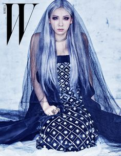 2NE1's CL Poses With Sister Harin In Witchy Winter Pictorial For W ...