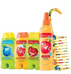 Avon: NATURALS Kids 5-Piece Bath Collection. All 5 for $9.99 To place your orders log on to www.youravon.com/staceymckay